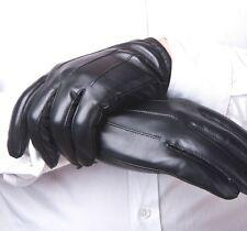 Echtes Leder, neue Polizei Handschuhe, Herren treibende Handschuhe Braun Schwarz