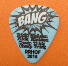 Cheap Trick Rick Nielsen 2016 Tour Guitar Pick Rrhof Blue Bang