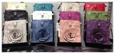 Faux Leather Flower Handbags