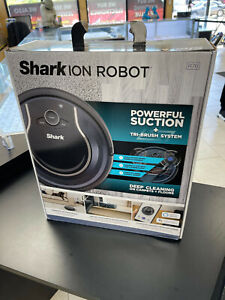 NEW! Shark R76 ION ROBOT App-Controlled Robot Vacuum - Black/Navy Blue