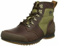 Sorel Ankeny Mid Hiker hiking Ripstop Tobacco Winter Boots shoes Men's size 7.5