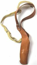 (no5) GERMAN ARMY & POLICE LEATHER SHOULDER HOLSTER