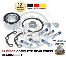 Pour mercedes classe c 2000-2007 nouveau 14 pièce arrière roulement de roue kit complet