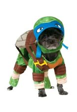 LEONARDO DOG PET TEENAGE MUTANT NINJA TURTLE COSTUME SMALL 27.9CM NECK TO TAIL