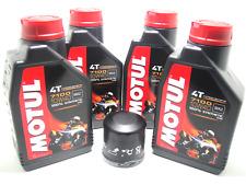 Set mantenimiento 3 litros aceite motor Motul 7100 10w40 filtro