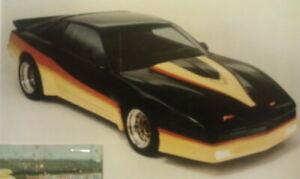 82-92 Pontiac Firebird SHOWCARS Fiberglass 4 Piece Wide Body Kit