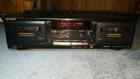Sony TC-WR535 Stereo Cassette Deck {{{REFURBISHED}}}