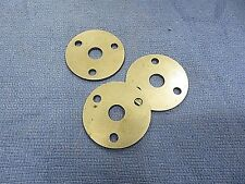 Go cart steering wheel mount, weld on mount. 3 hole, ( lot of 3 ) NEW