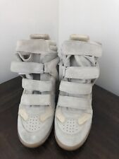 ISABEL MARANT OVER BASKET HI TOP WEDGE SNEAKER SZ 40 NEW WITHOUT BOX