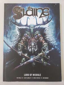 SLAINE Book 6 LORD OF MISRULE GRAPHIC NOVEL 2011 2000AD COMICS PAT MILLS!