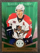 2013-14 TOTALLY CERTIFIED BRIAN CAMPBELL EMERALD SP 3/5 FLORIDA PANTHERS