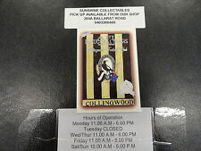 1996 SELECT HALL OF FAME PLATINUM BASE CARD NO.102 COLLINGWOOD LOGO