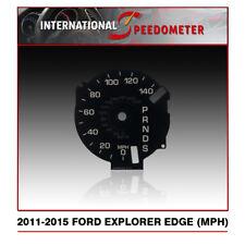 2011 - 2015 Ford Explorer & Edge Speedometer Faceplate (MPH) (S)
