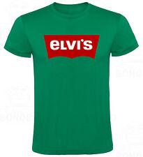 Camiseta Elvis Presley Rey del Rock hombre tallas y colores