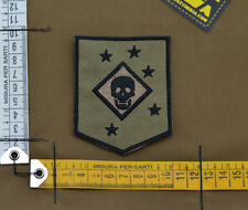 "Ricamata / Embroidered Patch Marsoc ""Marine Raider"" Tan with VELCRO® brand hook"