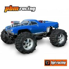 HPI RACING CHEVROLET EL CAMINO SS Savage/T-Maxx Clear Body + 7177 fogli di Decalcomania