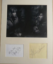 ALAN BATES & HAYLEY MILLS Signed 14x11 Photo Display WHISTLE DOWN THE WIND COA