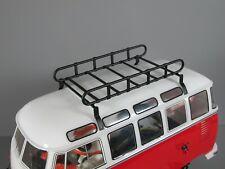 New Metal Roof Mount Luggage Rack for Tamiya 1/10 R/C WR02 Volkswagen Bus