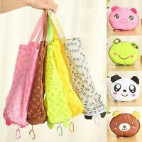 Cute Bag Handbag Storage Foldable Tote Bags Reusable Animals Shopping