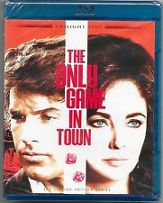 The Only Game In Town Blu Ray New Twilight Time Ltd Ed All Regions Free Post