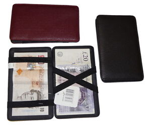 Magic wallet milkman taxi bus money trader puzzle wallet strong - 3 colours 8013