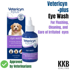 EYE Drops for Dogs Vet recommended for Eye Irritation & Tear Stain Remover