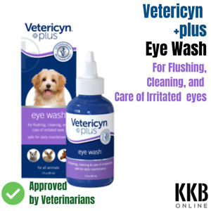 EYE Drops for Dogs Vet recommended for Eye Irritation & Tear Stain Remover
