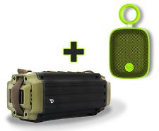 Dreamwave TREMOR Bluetooth 4.0 aptX Portable 50W Speaker + Green Mini Speaker