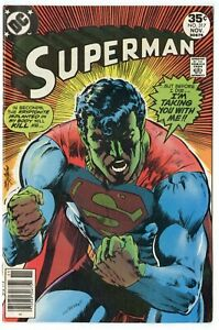 Superman #317 VF/NM 9.0 white pages  Classic Neal Adams cover  DC  1977  No Resv