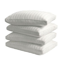 Supreme 350 Thread Count Cotton Damask Down Alternative Pillow (Set of 4)