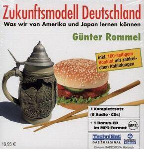 HÖRBUCH-CD-BOX NEU/OVP - Zukunftsmodell Deutschland von Günter Rommel