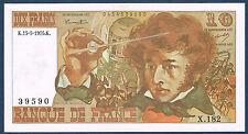 FRANCE - 10 FRANCS BERLIOZ Fayette n° 63.10 du 15-5-1975.K en SPL  X.182 39590