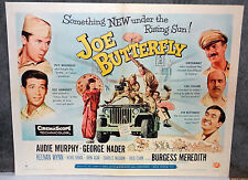 JOE BUTTERFLY orig 1957 movie poster AUDIE MURPHY/CHARLES MCGRAW/GEORGE NADER