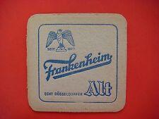 Beer Coaster ~*~ Frankenheim Brewing Alt, Düsseldorf Germany 1873 ~*~ Eagle Hawk