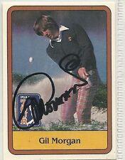 Gil Morgan Signed autographed Golf Card Donruss PGA