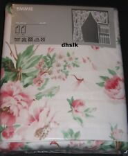 IKEA EMMIE Drapes CURTAINS 2 Panels FLORAL Romantic Roses ENGLISH GARDEN Lined
