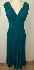 SUZY CHIN MAGGY BOUTIQUE RUCHED MATTE JERSEY DRESS SIZE 2 NWOT