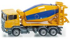Siku Super 1896 1:87 Liebherr Cement Mixer Construction Site Vehicle Model