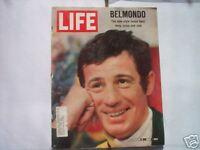 LIFE MAG JEAN-PAUL BELMONDO NEW STYLE MOVIE HERO,SEXY,CRAZY,& COOL 11/11/66