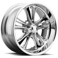 """Staggered Foose F097 Knuckle Front:18x8, Rear:18x9.5 5x4.75"""" Chrome Wheels Rims"""
