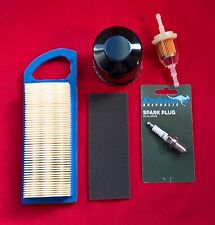 BRIGGS ENGINE SERVICE KIT-  797008 AIR FILTER, OIL AND FUEL FILTERS, SPARK PLUG