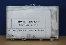 Keystone Loco Works HO-105 HO-1053 Shay Locomotive All Metal Kit NIB Sealed 2016