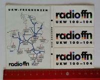 Aufkleber/Sticker: radio ffn (160417117)