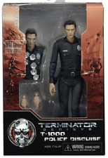 "NECA TERMINATOR GENISYS T-1000 POLICE DISGUISE 7"" INCH ACTION FIGURE"