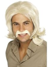 Mullet 1970s Theme Costume Wigs & Facial Hair