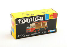 Tomica Domestic Series 76 Fuso Wing Roof Truck Empty Box Only