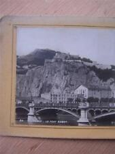 Stereoscope Stereo View Stereo Card - France Grenoble Le Fort Rabot
