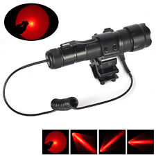 WF-502B RED Q5 LED Flashlight Torch+Mount light Gun+Pressure Switch