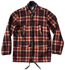 STEVEN ALAN x WOOLRICH Men's Sz M Wool Plaid Hunting Jacket / Zip Front