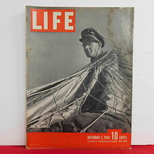 Free Balloonist Life Magazine James Grow Radio City Moussolini December 2 1940!